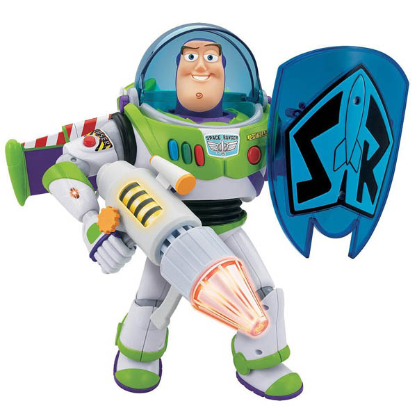 TOY STORY 玩具总动员 Power Blaster Buzz Lightyear 巴斯光年