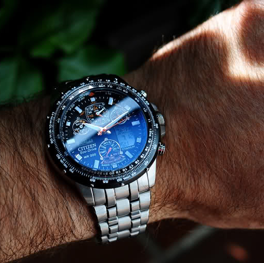 CITIZEN 西铁城 超级空中之鹰 JY0010-50E 男款腕表