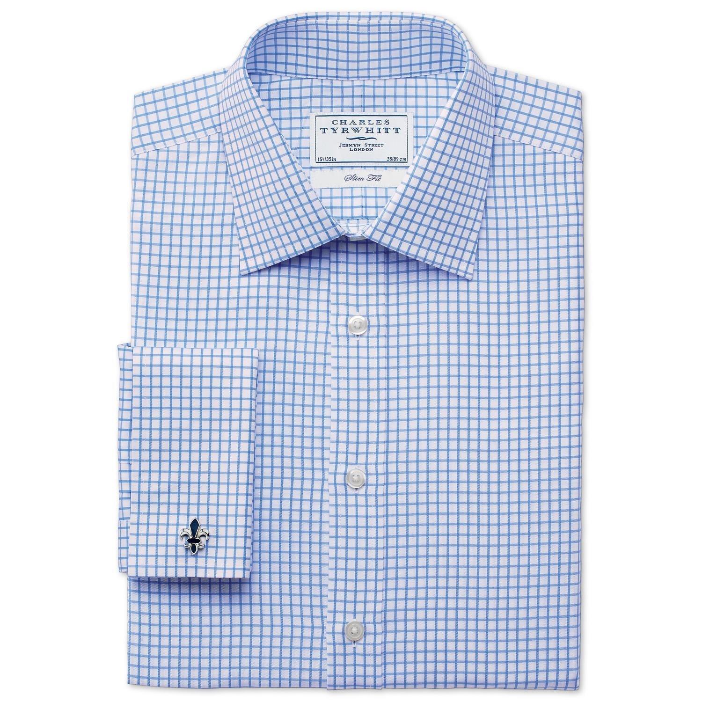 CHARLES TYRWHITT Sky twill  男士衬衫